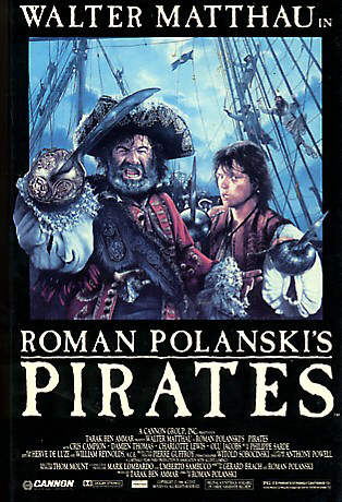 pirates Roman Polanski   Pirates [+Extras] (1986)